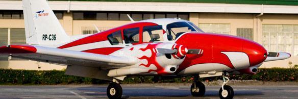 header28 piper aztec masters flying school